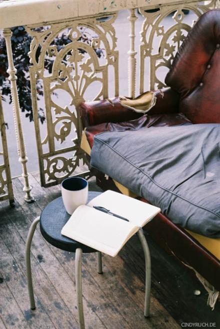 balcony diary