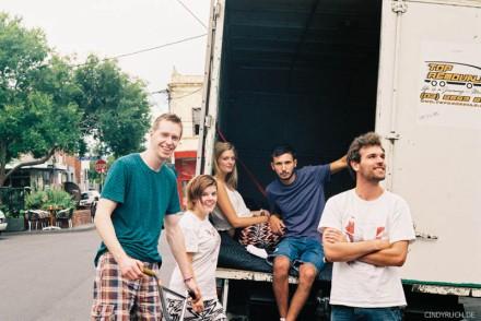 Truck crew