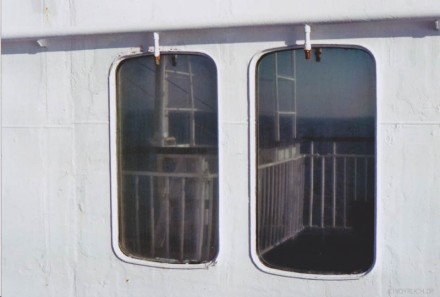 ferry reflection