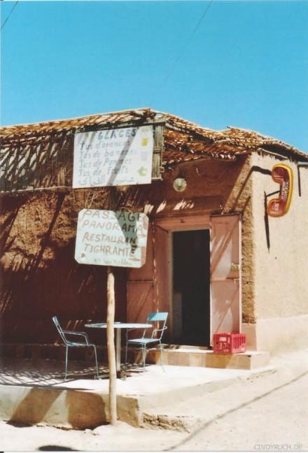 Berbercafe in AitBenHaddou