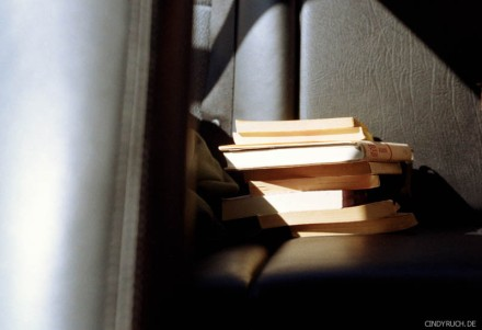 books on the backseat